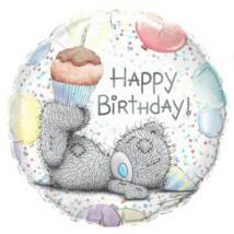 18 inch-es Tatty Teddy Birthday Cupcake Szulinapi Folia Lufi