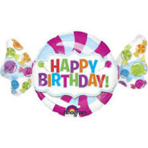 Sweet Shop Happy Birthday Super Shape