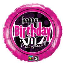 18 inch-es Női Mulatság - Birthday Feminine Fun Szülinapi Fólia Lufi