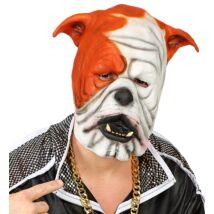 Bulldog latex álarc