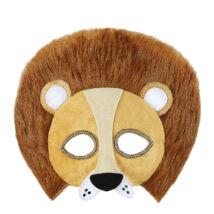 Plüss oroszlán maszk