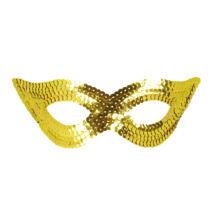 Arany flitteres szemmaszk