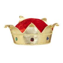 Királyi-királynői korona plüssel