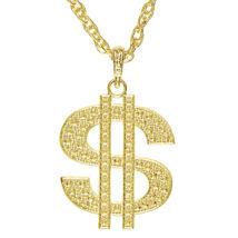 Arany dollárjel nyaklánc