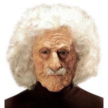 Einstein maszk, latex, hajjal, bajusszal