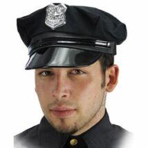 Fekete Rendőr Sapka