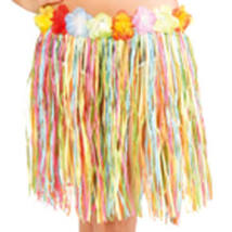 Hawaii Parti Színes Fűszoknya - 45 cm