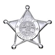 Ezüst sheriff csillag