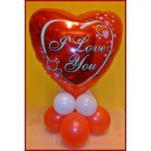 Valentin szívecskés dekoráció