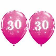 11 inch-es 30-as Sparkle-A-Round Wild Berry Szülinapi Lufi