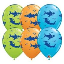 11 inch-es Fun Sharks! Special Assortment Lufi