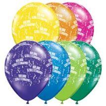 11 inch-es Boldog Születésnapot Fantasy Lufi