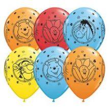11 inch-es Winnie The Pooh Characters - Micimackó Spec. Asst. Lufi
