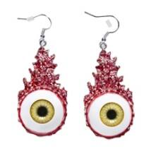 Véres szemek fülbevaló
