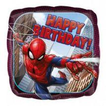 17 inch-es Pókember - Spider-Man Happy Birthday Szülinapi Fólia Lufi