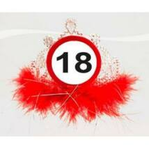 18-as Sebességkorlátozó Számos Szülinapi Parti Tiara