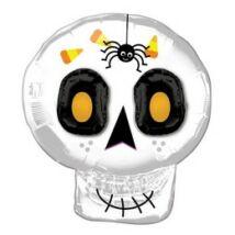 Sugar Skull Super Shape Fólia Lufi Halloween-re