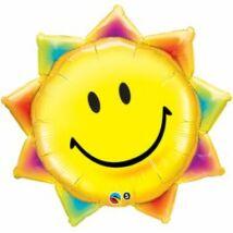 35 inch-es Sunshine Smile Face - Mosolygós Napocska Super Shape Fólia Lufi, 89 cm