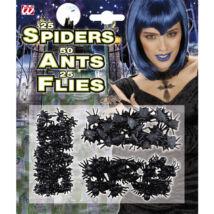 Rémes szett: 50 hangya,25 pók, 25 légy