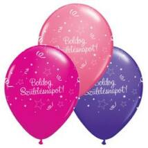 11 inch-es Boldog Születésnapot Shining Star Lufi Lányos Színekben