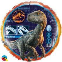 18 inch-es Jurassic Worldi- Velociraptor - Dinoszaurusz/Dínó Fólia Lufi