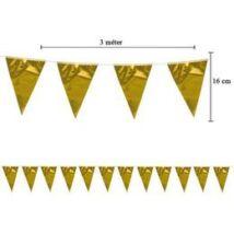 Kicsi Fényes Arany Zászlófüzér - 3 m