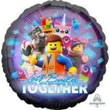 18 inch-es Lego Movie 2 Fólia Lufi