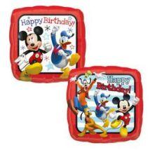 18 inch-es Mickey Mouse & Friends Happy Birthday Roadster Racers Szülinapi Fólia Lufi