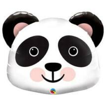 31 inch-es Óriás Mosolygó Panda Fej - Precious Panda Super Shape Fólia Luf