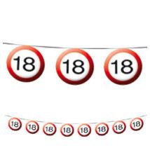 18-as Sebességkorlátozó Szülinapi Parti Füzér - 12 m