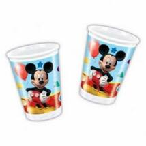 Mikiegér Playful Mickey Parti Pohár - 200 ml, 8 db-os