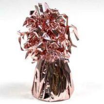 Rózsaarany - Rosegold Bojtos Fólia Léggömbsúly 170 gramm