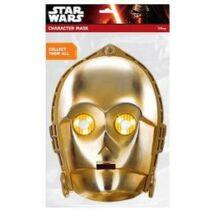 Star Wars - C-3PO Karton Maszk