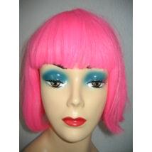 Pink rövid paróka