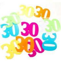 30-as XL Méretű Számos Születésnapi Konfetti