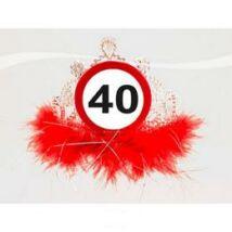 40-es sebességkorlátozó parti tiara