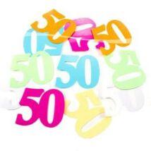 50-es XL Méretű Számos Születésnapi Konfetti