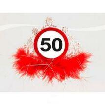 50-es sebességkorlátozó parti tiara