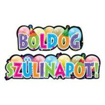 Boldog Szülinapot Feliratos Party Banner - 148 cm x 27 cm