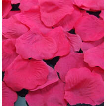 Magenta Dekorációs Virágszirom - 100 db-os