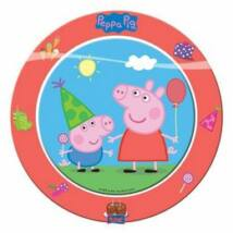 Peppa Malac Party Papírtányér - 8 db-os, 23 cm