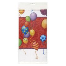 Birthday Balloons - Léggömbös Születésnapi Party Abrosz - 137 cm x 213 cm