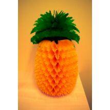 Méhsejt dekor lampion, ananász