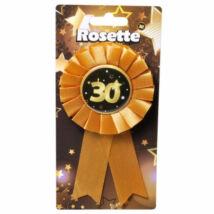 30. Születésnapi Kitűző, Fekete-Arany