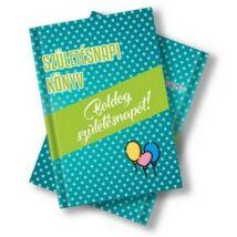Születésnapi könyv idézetekkel, fotókkal