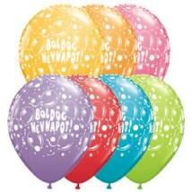 11 inch-es Boldog Névnapot Sparkling Balloons Festive Lufi