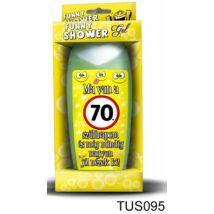 Tusfürdő 300 ml - Ma van a 70. szülinapom! – 70. Szülinapi ajándékok