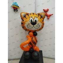 Állatos lufidekoráció Tigris