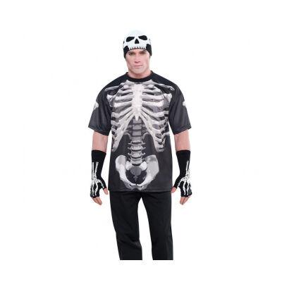 Mens' T-Shirt Skeleton