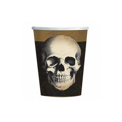 Boneyard - Koponyás Parti Pohár - 250 ml, 10 db-os